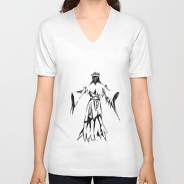 Lovecraft Series:  The King in Yellow tee Unisex V-Neck