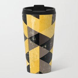 Hufflepuff House Pattern Travel Mug