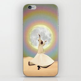 Whirling Dervish iPhone Skin