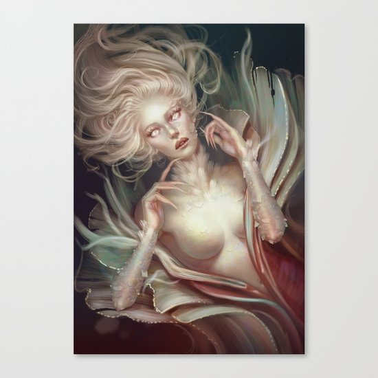 Soul Made of Glass Canvas Print