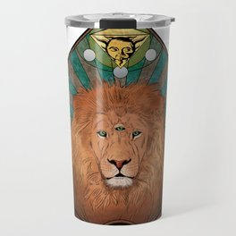 The All-seeing One - #5 Animal Hierarchy Travel Mug