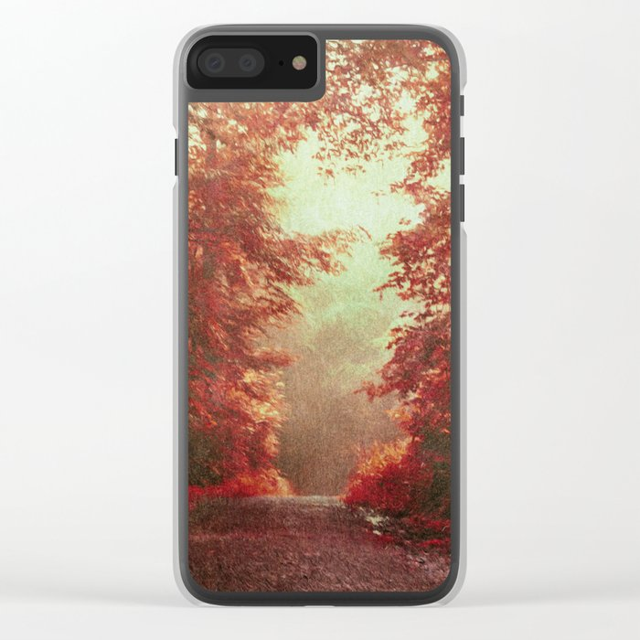 magical redwoods Clear iPhone Case