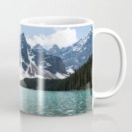 Landscape Lake Moraine Mountains Coffee Mug