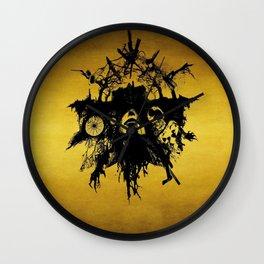 Dream catcher evil Wall Clock