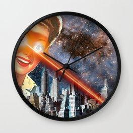 Laser Eyes Wall Clock