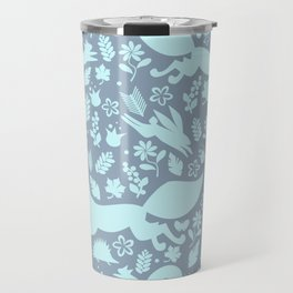 Finnish forest - Winter is here! Travel Mug