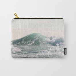 Waves and Sunrise Happy Summer Photography Ocean Beach Vibes Tropical Water Sea Carry-All Pouch
