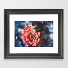 the Beauty and the beast Framed Art Print