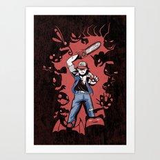 Pokevil Dead - Gotta Kill 'Em All Art Print