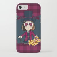 willy wonka iPhone & iPod Cases featuring Willy Wonka by 7pk2 online