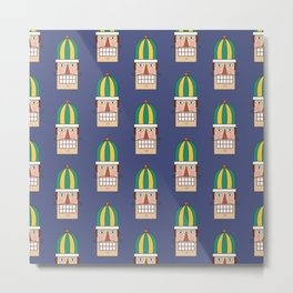 Nutcracker Army 02 (Patterns Please) Metal Print