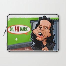 Oh Hi Mark (Green Screen) Laptop Sleeve