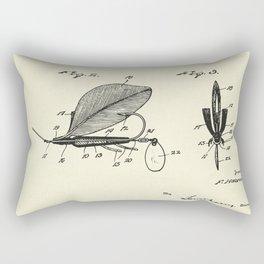Artificial Fish Bait-1925 Rectangular Pillow