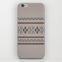 The Big Lebowski Cardigan Knit iPhone Skin