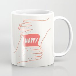 Focus on Happy Coffee Mug