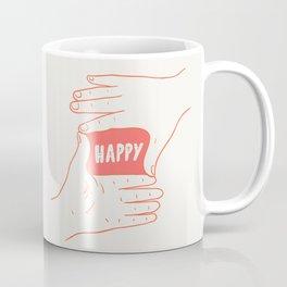 Focus on Happy Coffee Mug