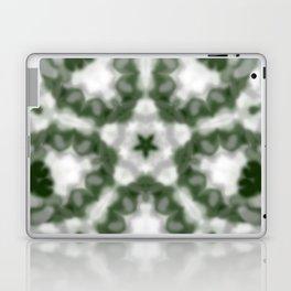 Green and White Kaleidoscope Laptop & iPad Skin