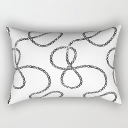 bicycle chain repeat pattern Rectangular Pillow