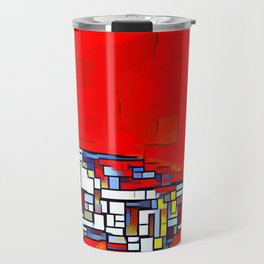 Spinner Cubism Travel Mug