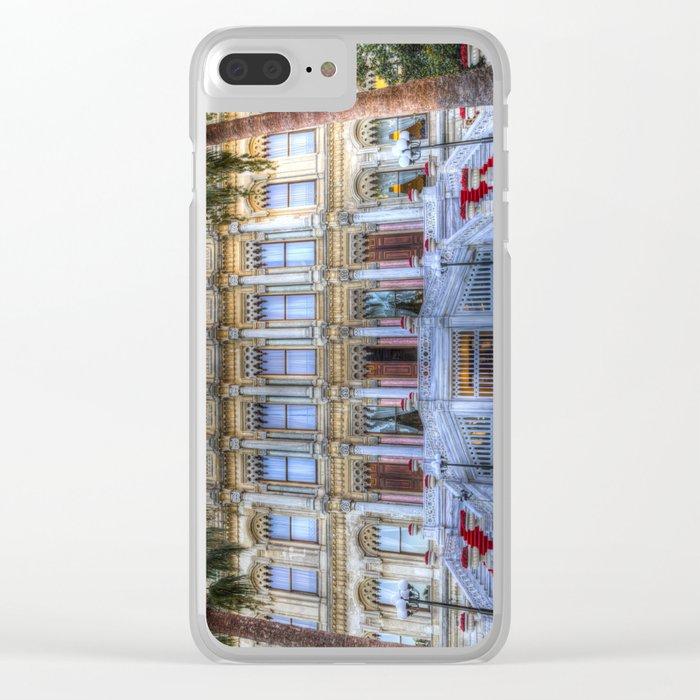 Ciragan Palace Istanbul Clear iPhone Case