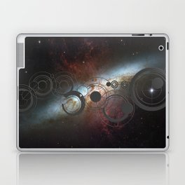 Doctor Who Allons-y Gallifrey  with the Starburst Galaxy M82 Laptop & iPad Skin
