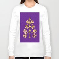 christmas tree Long Sleeve T-shirts featuring Christmas Tree* by Mr & Mrs Quirynen