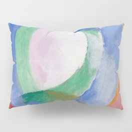 "Robert Delaunay ""Formes circulaires; lune no. 1"" Pillow Sham"