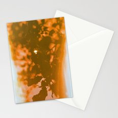 orange haze and white sunlight Stationery Cards