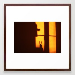 The Window Project Framed Art Print