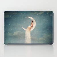 river iPad Cases featuring Moon River Lady by Paula Belle Flores