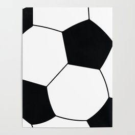 World Cup Soccer Ball - 1970 Poster