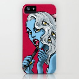 Venom 04. Joan iPhone Case