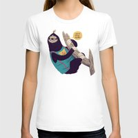 sloth T-shirts featuring sloth by Louis Roskosch