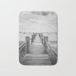 Old Dock Hyannis Port Cape Cod Ma Bath Mat