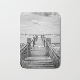 Old Dock Hyannis Port Cape Cod Ma Bath Mat