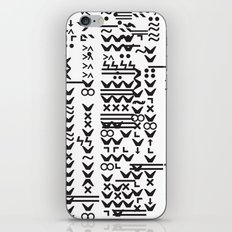 Glitchfield iPhone & iPod Skin