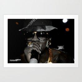 BLACK & GOLD: Trinidad James pt.3 Art Print