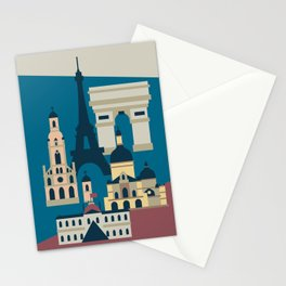 Paris - Cities collection  Stationery Cards