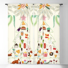 Christmas Blackout Curtain