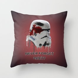Never Forget (Normal Edition) Throw Pillow