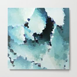Turquoise Lover Metal Print