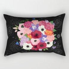floral topiary Rectangular Pillow