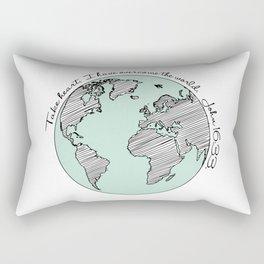 John 16:33 Rectangular Pillow