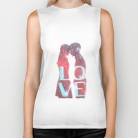 lovers Biker Tanks featuring Lovers by EclipseLio