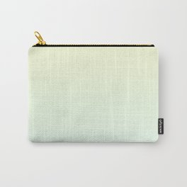 Color gradient 1. green and yellow.abstraction,abstract,minimalism,plain,ombré Carry-All Pouch