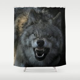Malicious Intent Shower Curtain