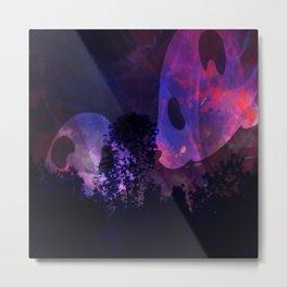 Twilight Panda Metal Print