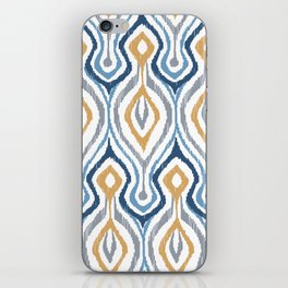 Sketchy Ikat - Saddle iPhone Skin