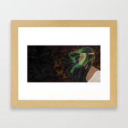 Personification of the Egyptian God Kek Framed Art Print
