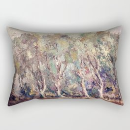 Gloomy Forest Rectangular Pillow